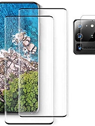 """cheap -[2+1 camera lens protector] for samsung galaxy s21 ultra screen protector [fingerprint sensor support] easy install hd film tempered glass for galaxy s21 ultra 5g (6.8"""")"""
