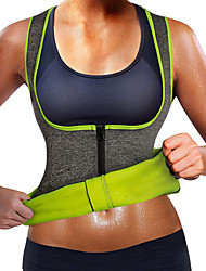 cheap -Shapewear Sweat Shapewear Sports NEOPRENE Yoga Fitness Gym Workout Stretchy Breathable Weight Loss For Women