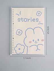 cheap -B5 cute cartoon notebook back to school office Diary Planner Agenda Sketchbook Kawaii Stationery 17.6*25.3 cm1pcs
