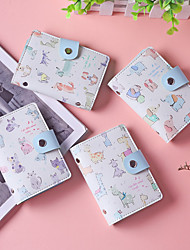 cheap -Cartoon animal rabbit wallet female PU leather coin purse anti-demagnetization credit pocket card holder