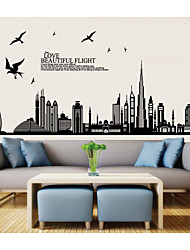 cheap -Cartoon Wall Stickers Bedroom / Kids Room & kindergarten, Removable PVC Home Decoration Wall Decal 1pc