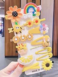 cheap -Princess Hair Accessories Broken Hair BB Clip Children's Hair Clip Girl's Side Banger Full Package 14 Piece Suit