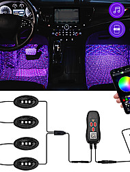 cheap -1pcs Car Interior Lights Decoration Lights Light Bulbs 0.5 W 48 LED Strobe / Flashing For universal All Models All years
