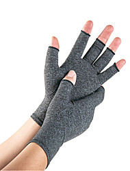 cheap -1 Pairs Arthritis Compression Gloves For Alleviate Rheumatoid Osteoarthritis Carpal Tunnel Raynauds Disease Ease Muscle Tensi On Fingerless Breathable & Moisture Women And Men