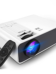 cheap -Factory Outlet M8-D LED Projector Manual Focus WiFi Bluetooth Projector Video Projector for Home Theater Sync Smartphone Screen 1080P (1920x1080) 6500 lm Compatible with iOS and Android TV Stick HDMI