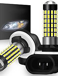 cheap -OTOLAMPARA 78W H27W/2 881 LED Bulb Car Foglight DRL High Light 3014 LED IP67 Waterproof Fog Light Bulbs 2pcs