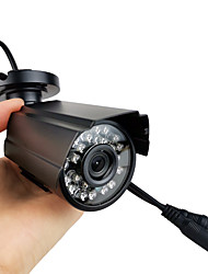 cheap -Outdoor Security Cameras with Night Vision 700TVL 1/4 Inch 3.6mm Lens CMOS NTSC PAL CCTV Outdoor Waterproof Camera for Security Surveillance System