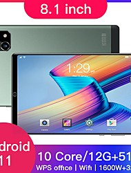 cheap -8.1 inch tablet,equipped with Android 10.0,octa-core processor,Google Play,GPS and WIFI phone,8 inch tempered glass