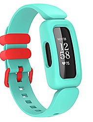 cheap -Sport band soft bands compatible with fitbit ace 3 for kids, silicone waterproof accessories sports watch strap replacement for fitbit ace 3 and inspire 2 for boys girls