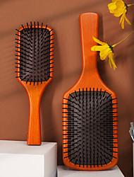 cheap -Air Cushion Comb Hair Styling Air Bag Comb Beech Massage Care Solid Wood Air Cushion Comb