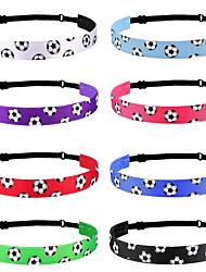 cheap -Popular Football Sports Hairband Candy Color Yoga Hairband Hairband Running Headband Anti Slip Hair Accessories
