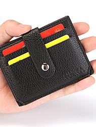 cheap -Small RFID Blocking Minimalist Slim Credit pocket card holder Pocket Wallet for Men and Women