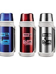 cheap -Travel Thermosflask Thermos Water Coffee Bottle 1.2L to 2.1L Stainless Steel Coffee Cup Mug Heat Cold Preservation