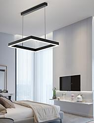 cheap -LED Pendant Light 60 cm Square Line Design Pendant Light Aluminum LED Nordic Style 220-240V