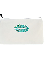 cheap -large-capacity lip canvas bag cosmetic bag coin purse creative student pencil case stationery storage