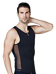 cheap -Shapewear Sweat Shapewear Sports NEOPRENE Yoga Fitness Gym Workout Stretchy Breathable Weight Loss For Men