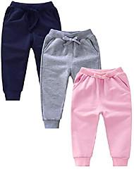 cheap -Kid's Boys' Pants Light Blue Yellow Blushing Pink N / A Cotton