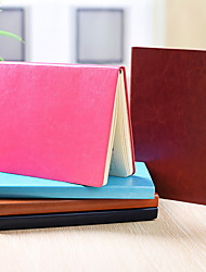cheap -Other Material Brown+Yellow / Blushing Pink / Burgundy 1 PC Creative Notebooks / Notepads 14.5*21 cm