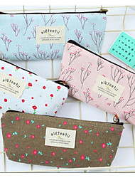cheap -creative mood for love pencil case unisex stationery box floral small fresh pencil case