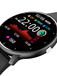 cheap -ZL02 Smartwatch Fitness Running Watch Bluetooth Sleep Tracker Heart Rate Monitor Sedentary Reminder Message Reminder Call Reminder Camera Control IPX-4 45.5mm Watch Case for Android iOS Kids Men Women