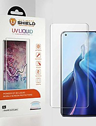 cheap -liquid glass for xiaomi mi 11 / mi 11 pro/mi 11 ultra [2 pack] [premium 3d curved tempered glass screen protector] [full adhesive] [9h hardness] [scratch resistant] [crystal clear]