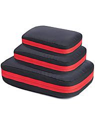 cheap -Compression Storage Bag Zipper Travel Bag Waterproof Storage Bag Set Waterproof Clothing Wash Bag