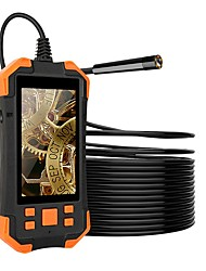 cheap -2M 5.5MM 1080P HD Digital Endoscope Camera 4.3 Inch LCD 4cm-5m Focal Distance Snake Camera 3000mAh Video Inspection Camera with 6 led