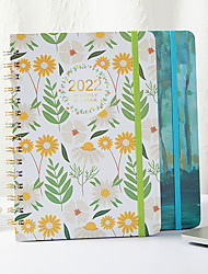cheap -Other Material Blue / Green 1 PC Creative Notebooks / Notepads 21.5*15.5 cm