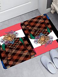 cheap -Tiger Geometry Series Digital Printing Floor Mat Modern Bath Mats Nonwoven / Memory Foam Novelty Bathroom