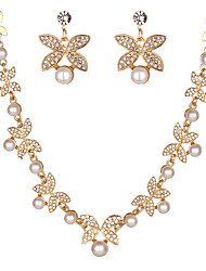 cheap -Women's Necklace Modern Sweet Chrome Silver Gold 50 cm Necklace Jewelry For Wedding Gift Birthday Party