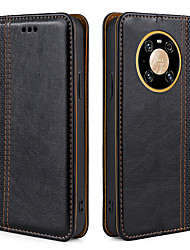 cheap -Phone Case For Huawei Full Body Case Leather Magnetic Adsorption Mate 30 Mate 30 Pro Honor 8X nova 3 HONOR Play nova 2S Honor 30 Honor 30S Honor 30 Pro Huawei Nova 4 Shockproof Dustproof Tile Solid