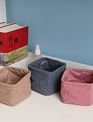 cheap -Multifunction Desktop Sundries Underwear Storage Basket Stationery Organizer Container 12*12*10CM