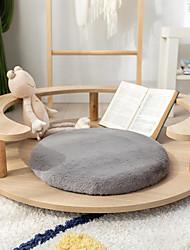 cheap -Seat Cushion High Quality High Weight Rabbit Fur Seat Cushion Chair Cushion Home Office Seat Bar Dining Chair Seat Pads Garden Floor Cushion