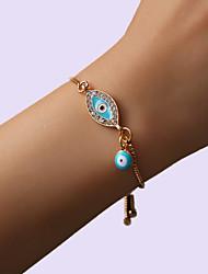 cheap -fashion gold-plated bracelet devil's eye jewelry ladies street style punk style alloy bracelet women