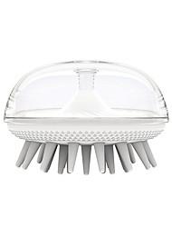 cheap -Shampoo Brush Head Massage Brush Pet Brush Hair Grabbing Lady's Scalp Shampoo Bath Brush Comb Silica Gel Men's Shampoo Comb