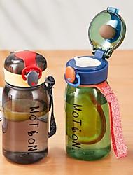 cheap -2 Pieces Set Baby Water Bottle 400ml Leak Proof Bottle Children School Outdoor Drinking Bottle Training Cup Cute Cartoon