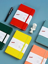 cheap -Agenda Diary Personal Organizer PU Leather Cover Loose-leaf Notebook Replaceable Paper Traveler Notepad Stationery Supplies21.5*14.5cm-yx2-yyn