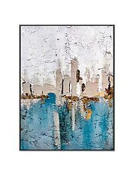 cheap -Oil Painting Handmade Hand Painted Wall Art Modern Colorful Picture Minimalist Abstract Large Size Home Decoration Decor Rolled Canvas No Frame Unstretched