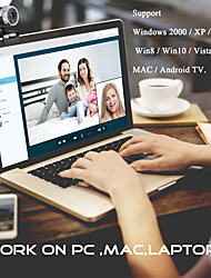 cheap -1080P Computer Camera built-in MIC Supports Video Calls HD Webcam