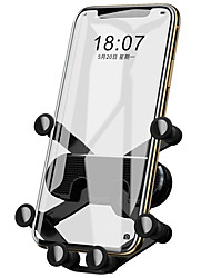 cheap -Phone Holder Stand Mount Car Air Vent Outlet Grille Car Holder Phone Holder Gravity Type Adjustable 360°Rotation Silicone Phone Accessory iPhone 12 11 Pro Xs Xs Max Xr X 8 Samsung Glaxy S21 S20