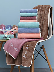 cheap -Bathroom Superior Quality Soft Bath Towel Solid Colored Comfortable Absorbent Daily Home Bath Towels 1 pcs 70*140cm