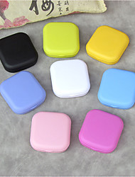 cheap -Contact Lens Easy Carry Pocket Portable Simple Mini storage box Eyes Travel Kit Container Box Case  5.1*5.8*1.6CM