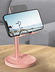 cheap -Phone Holder Stand Mount Desk Phone Holder Adjustable Silicone Phone Accessory iPhone 12 11 Pro Xs Xs Max Xr X 8 Samsung Glaxy S21 S20 Note20