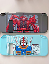 cheap -For Switch Protective Case Japanese Cartoon Full Cover Shell Controller Silicone Soft TPU Box Accessories