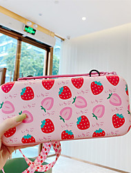 cheap -Cute Cartoon Storage Bag For Switch Kawaii Travel Carry Protective Case Game Console Box Shell with Lanyard Dropshipping
