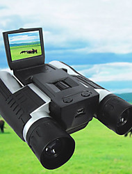 cheap -12 X 32 mm Binoculars Digital Camera 2'' LCD Display 1080P High Definition with Video Photo Recorder Support 32G TF Card USB Observing Wildlife Bird Watching Camping Hiking Hunting Battery Included