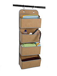 cheap -toy storage pocket behind non-woven door wall-hung multi-layer storage bag books miscellaneous underwear storage box factory direct sales