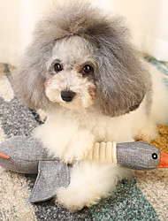 cheap -Stuffed Animal Toy Dog Cat 1pc Pet Friendly Cotton Gift Pet Toy Pet Play
