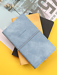 cheap -Other Material Blue / Yellow / Black 1 PC Creative Notebooks / Notepads 9.5*16.2 cm