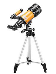 cheap -LUXUN® 15-150 X 70 mm Telescopes Lenses Free Assemblement Waterproof Outdoor High Definition Spotting Scope 100/1000 m BAK4 Camping Outdoor Space / Astronomy Spectralite Aluminium